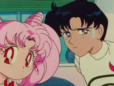 Capitulo 66 Sailor Moon, Rini y Darien