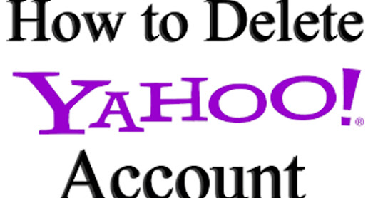 how do you permanently delete a yahoo email account