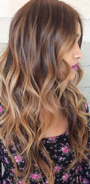 11 hottest brown hair with caramel highlights 11