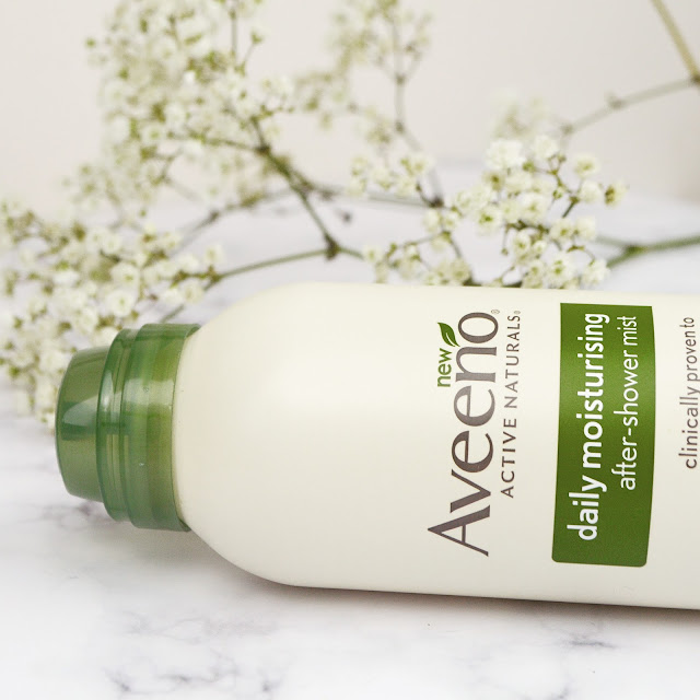 Aveeno Daily Moisturising After Shower Mist Spray from HelloSkin