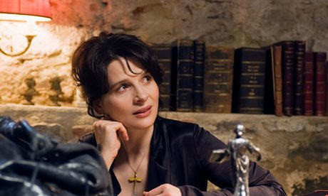 French actress Juliette Binoche as Elle in Certified Copy