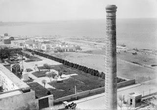 Rambla sur antes de su reconstrucción
