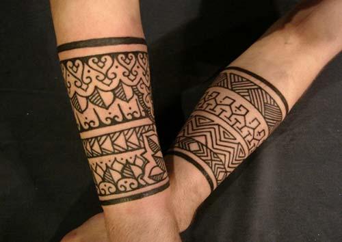 kadın kol bandı maori tribal dövmeleri woman armband maori tribal tattoos