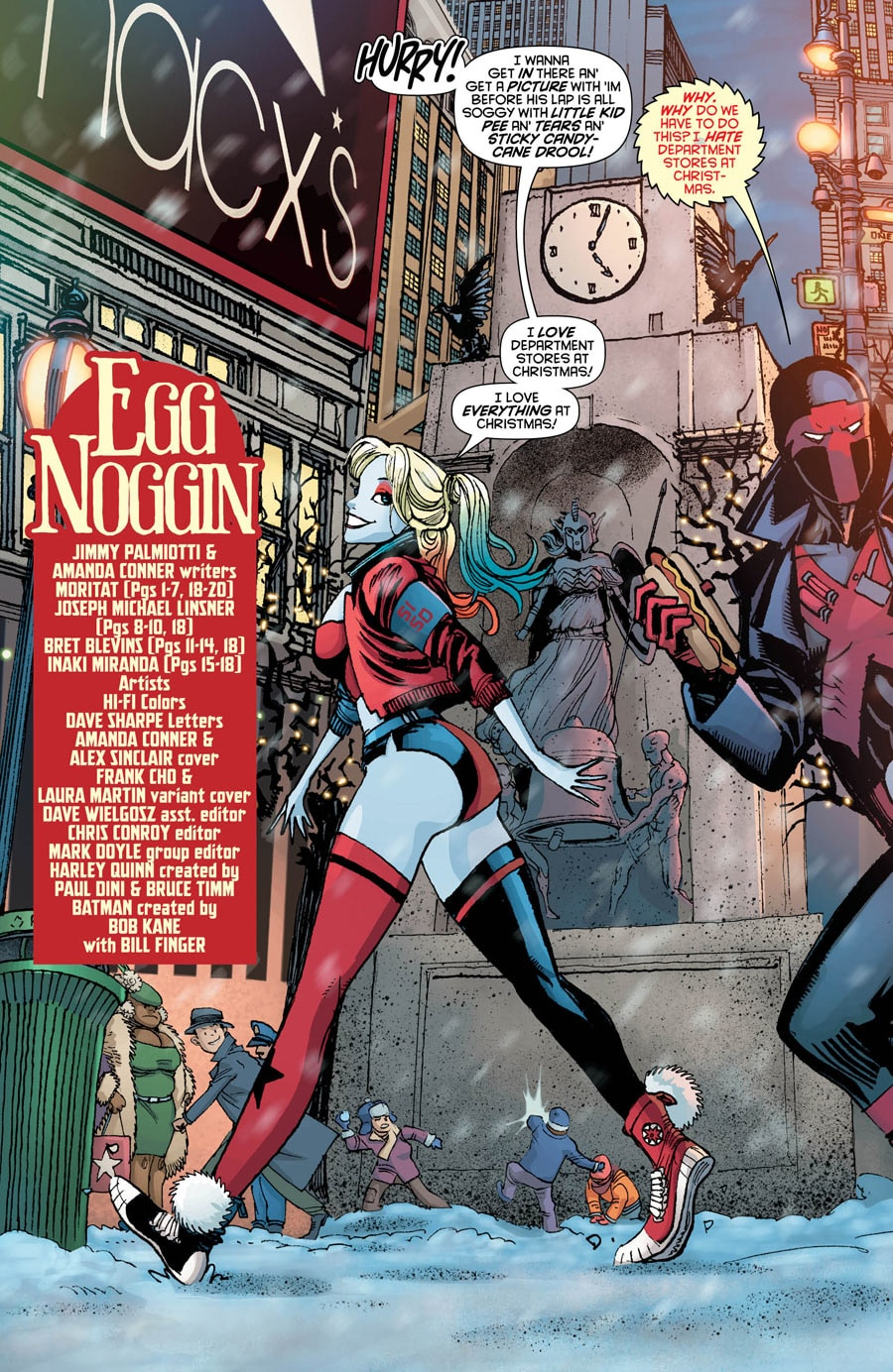 The Movie Sleuth Images Dc Comics Harley Quinn 10 Preview