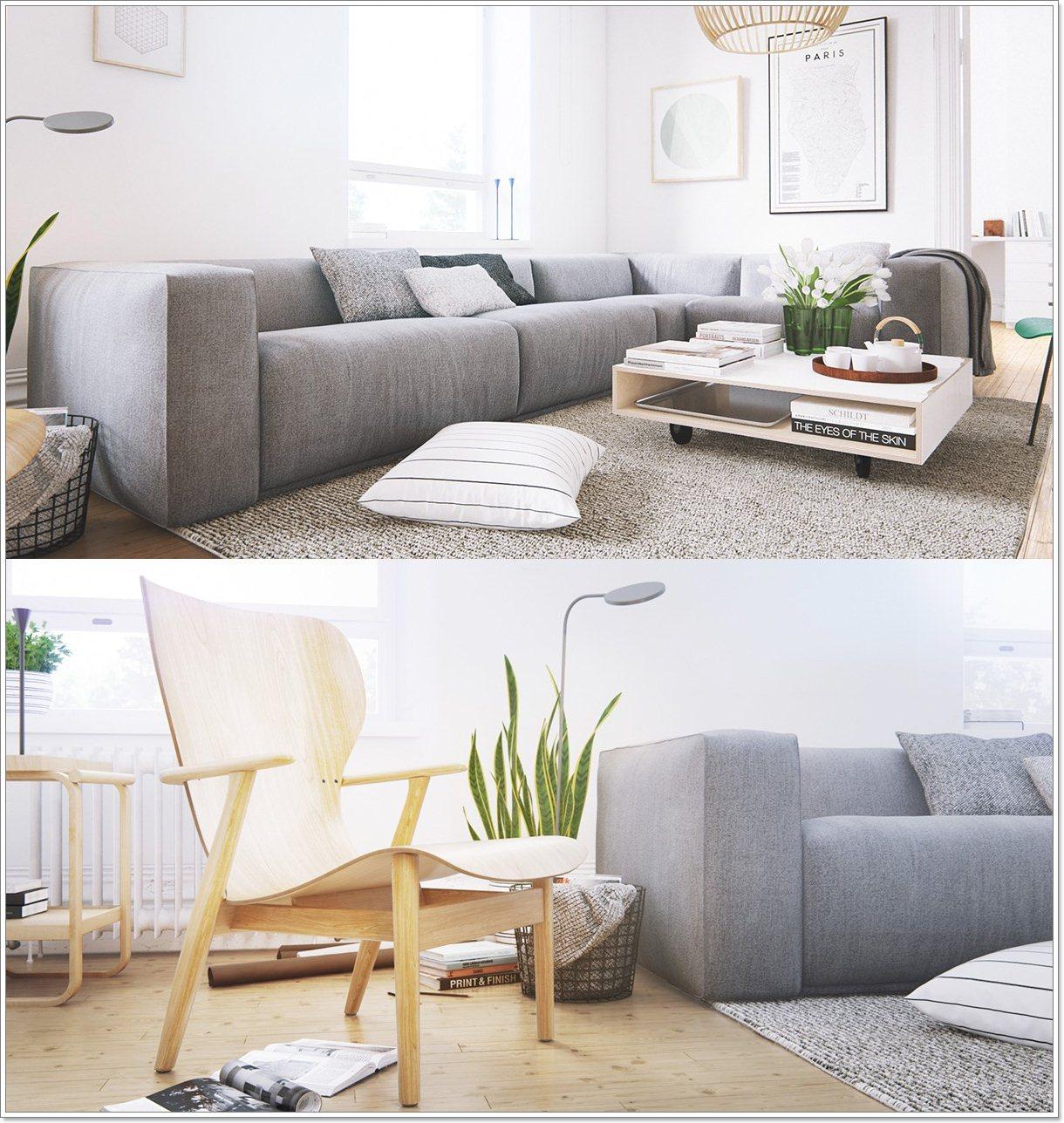 Skandinaviske stue design: ideer & inspirasjon   interiør inspirasjon