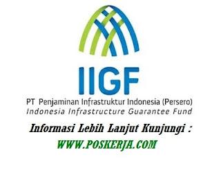 Lowongan Kerja terbaru Penjaminan Infrastruktur Indonesia September 2017