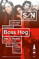 Concierto de Boss Hog en Sala 0