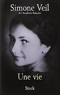 une vie Simone Veil blog avis chronique critique mort avortement Shoah