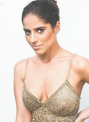 Camilla Camargo em novela do SBT