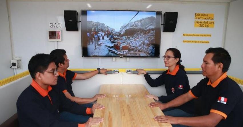 UNI presenta vehículo que te hace «vivir» la experiencia de un terremoto - www.uni.edu.pe