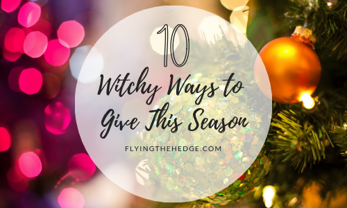 10 Witchy Ways to Give This Season