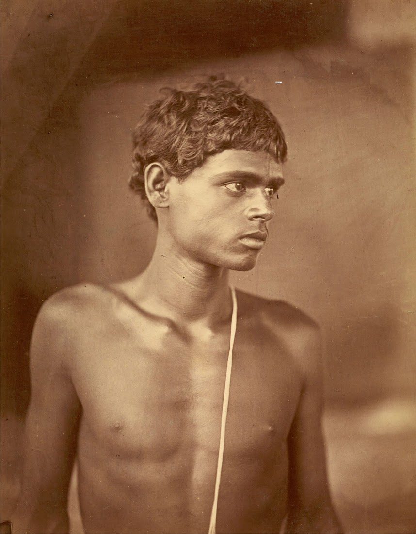Portrait of a Youth from Acharya Class - Eastern Bengal 1860's
