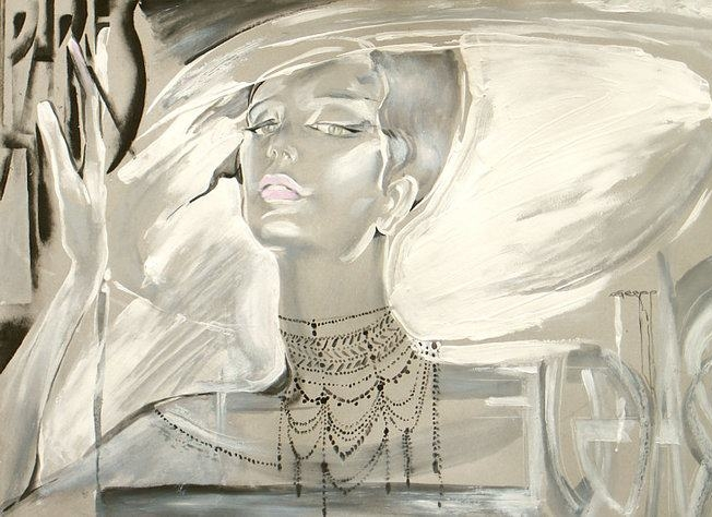 Nady Gepp | Belarusian Fashion painter