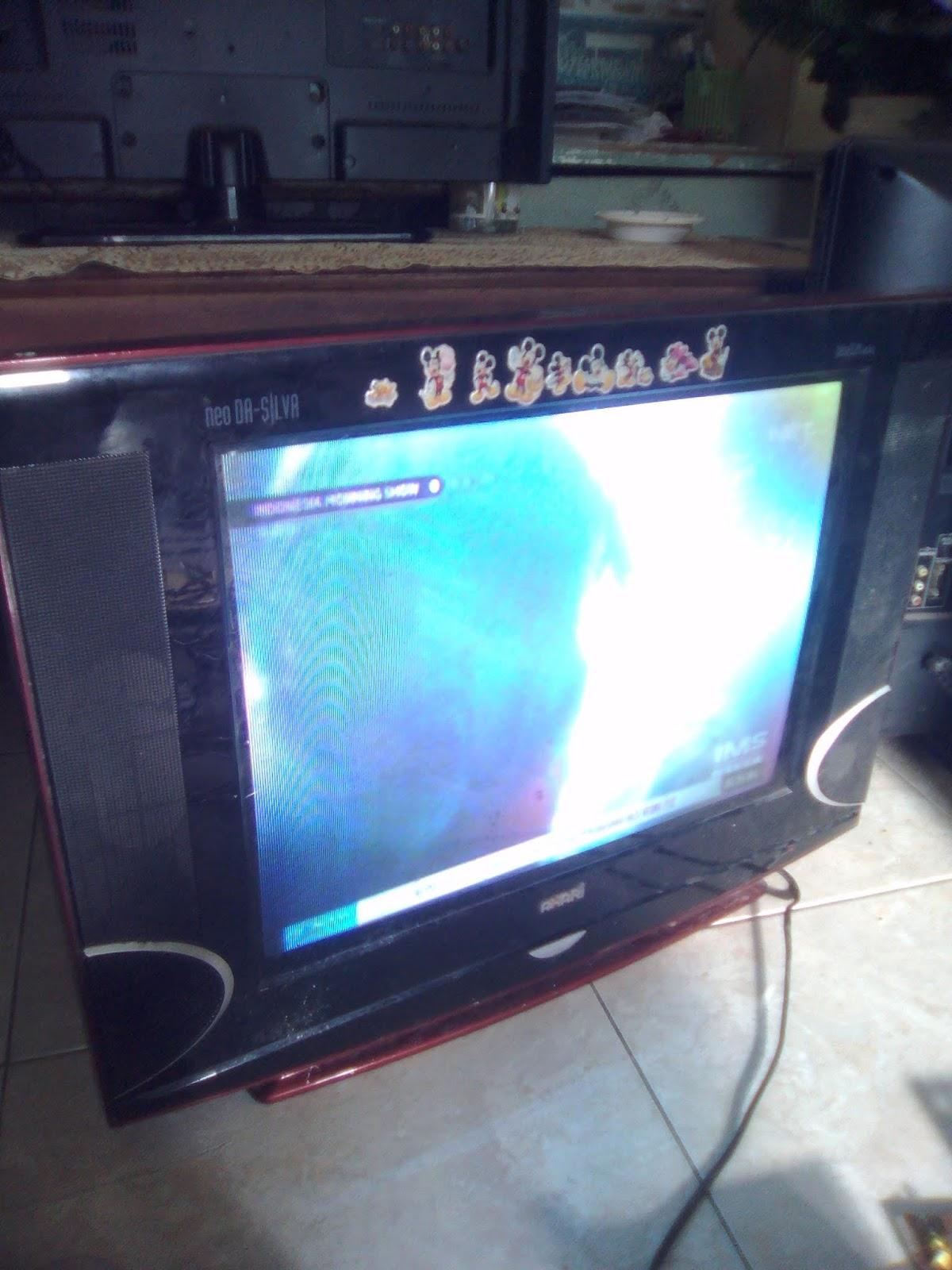 Belajar Elektronik Sederhana Tv Akari Flat Slim Tidak Ada Suara