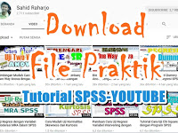 Download File Praktik Latihan SPSS Tutorial YOUTUBE