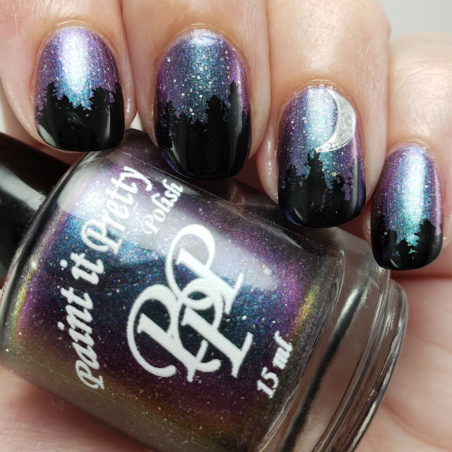 paint it pretty polish, indie polish, indie lacquer, handmade, canadian, nail polish, nails, multichrome, holo