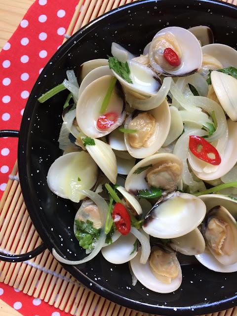 almejas a la portuguesa bulhao pato receta
