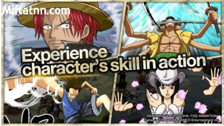 Game Action Terbaik One Piece TreasureCruise MOD APK Android