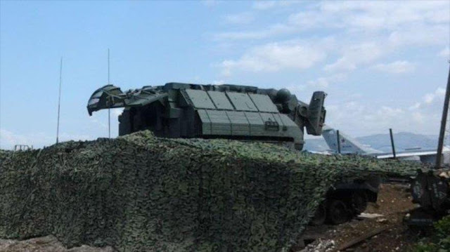 Sistema antiaéreo ruso Tor-M2 es visto por 1ª vez en Siria