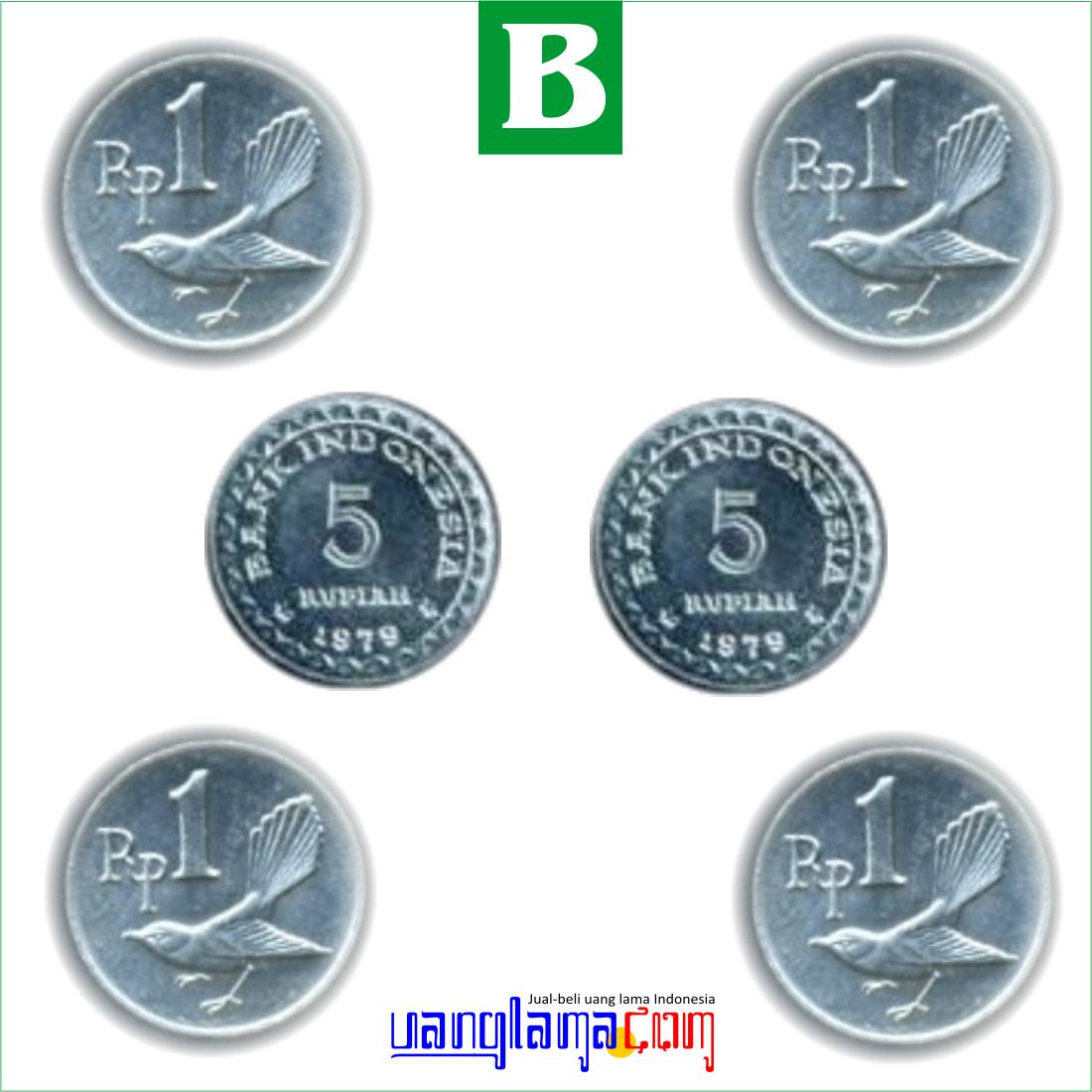 Paket 14 Rupiah B