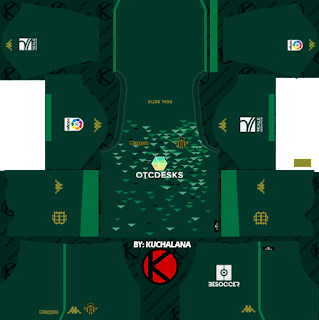 Real Betis 2018/19 Kit - Dream League Soccer Kits