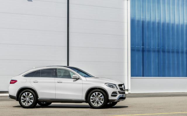 Mercedes GLE 400 4MATIC Coupe là mẫu xe hoàn toàn mới của Mercedes