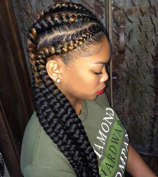 39 Fulani Simple Braided Styles For Black Hair 2018 Try Out Soon Fashionuki