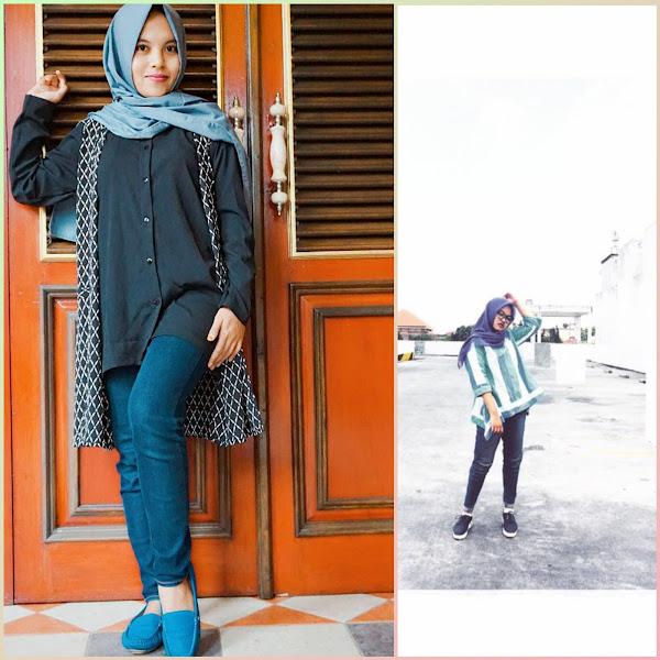 5 Tips Agar Tetap Tampil Chic Dan Stylish Dengan Celana Jeans Buat Kamu Yang Berhijab!