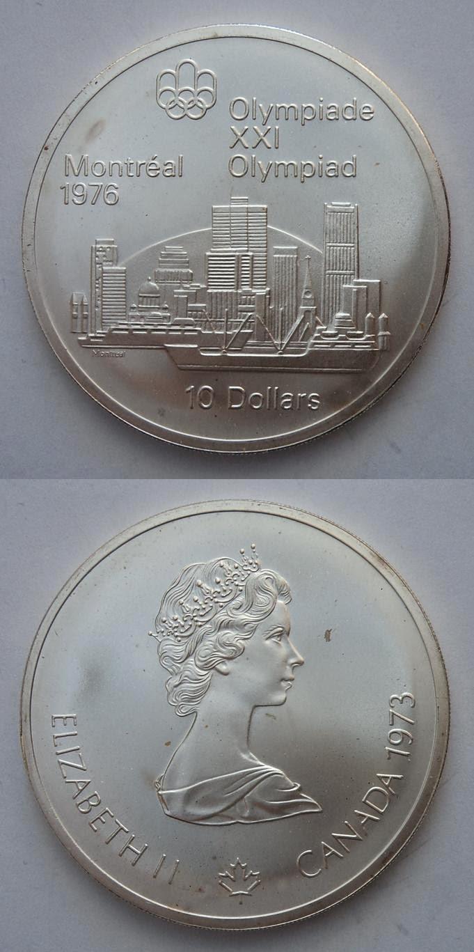 Medalla Juego Olimpicos Montreal 1976