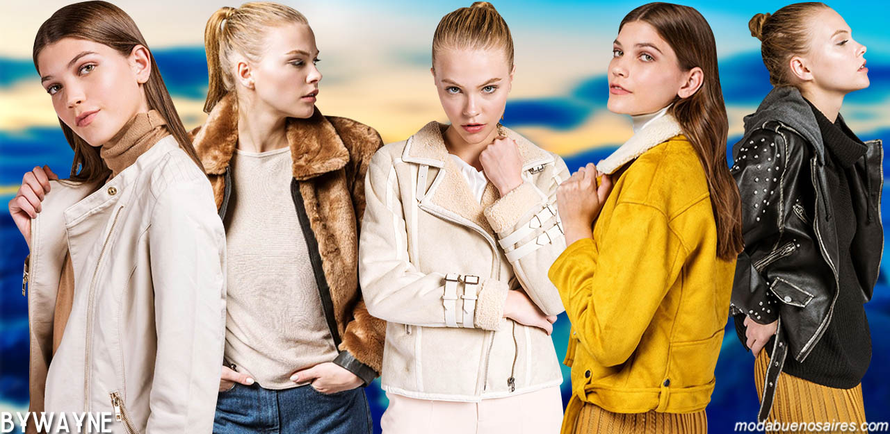MODA INVIERNO 2019: Sacos, chaquetas cortas y camperas de mujer Prüne.