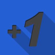 plusone square icon