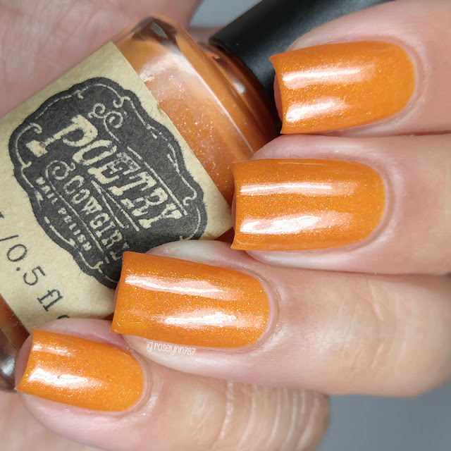 Poetry Cowgirl Nail Polish - Pumpkin Everything