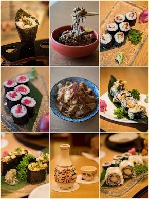 Chef Tetsu Akahira loves achari chicken sushi from his India inspired sushi festival at The Metropolitan Hotel & spa