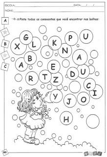 Atividades com alfabeto