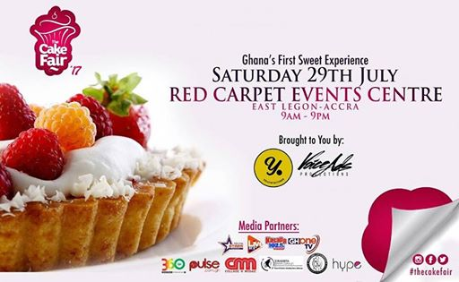 The 3rd Edition of 'The Cake Fair' comes off July 29