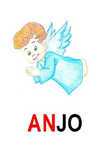 Cartaz sílaba complexa anjo