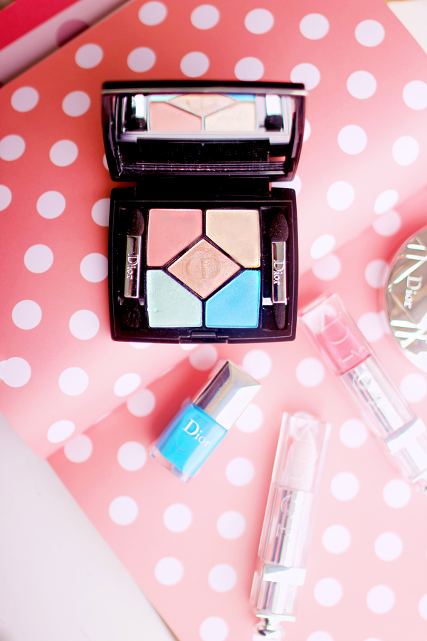 Dior Milky Dots Summer Makeup Collection 2016 beauty blog review