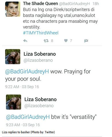 Liza Soberano Is the New Grammar Police; Slammed Basher Hard. READ HERE!