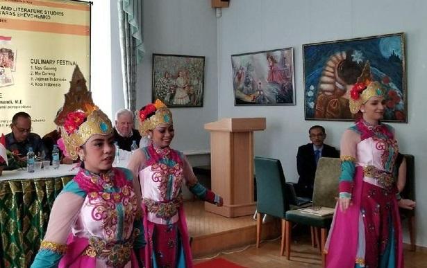 Festival Indonesia di Universitas Taras Shevchenko Ukraina