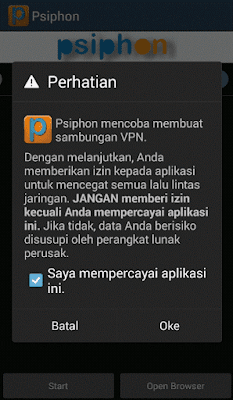 notif pop up warning
