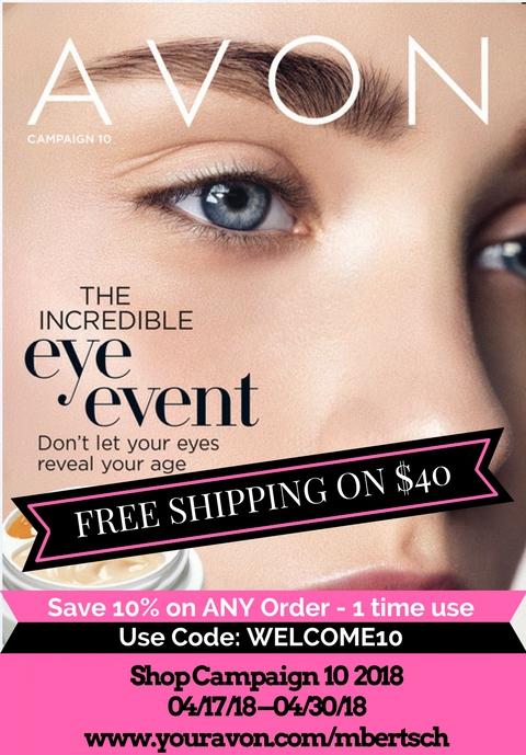 Avon Campaign 10 2018 Brochure - Shop Current Avon Catalog Online