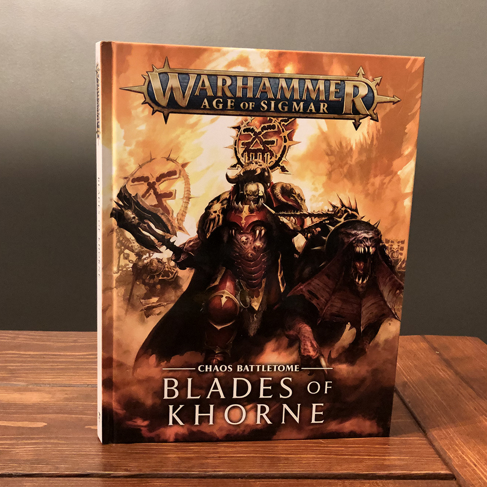 Age of Sigmar Warhammer Blades of Khorne Chaos Battletome