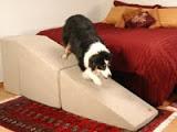 rampas para cães subirem em camas