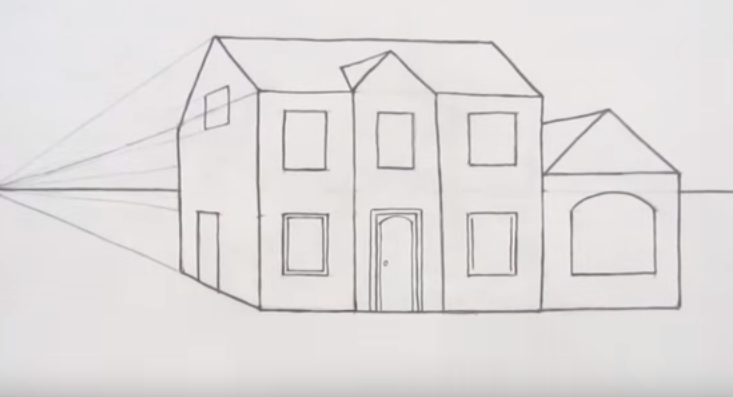 Karakalem Ev çizimi Nasıl Yapılır Karakalem çizimleri Karakalem