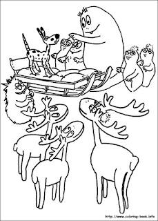 Ausmalbilder Barbapapa zum Ausdrucken