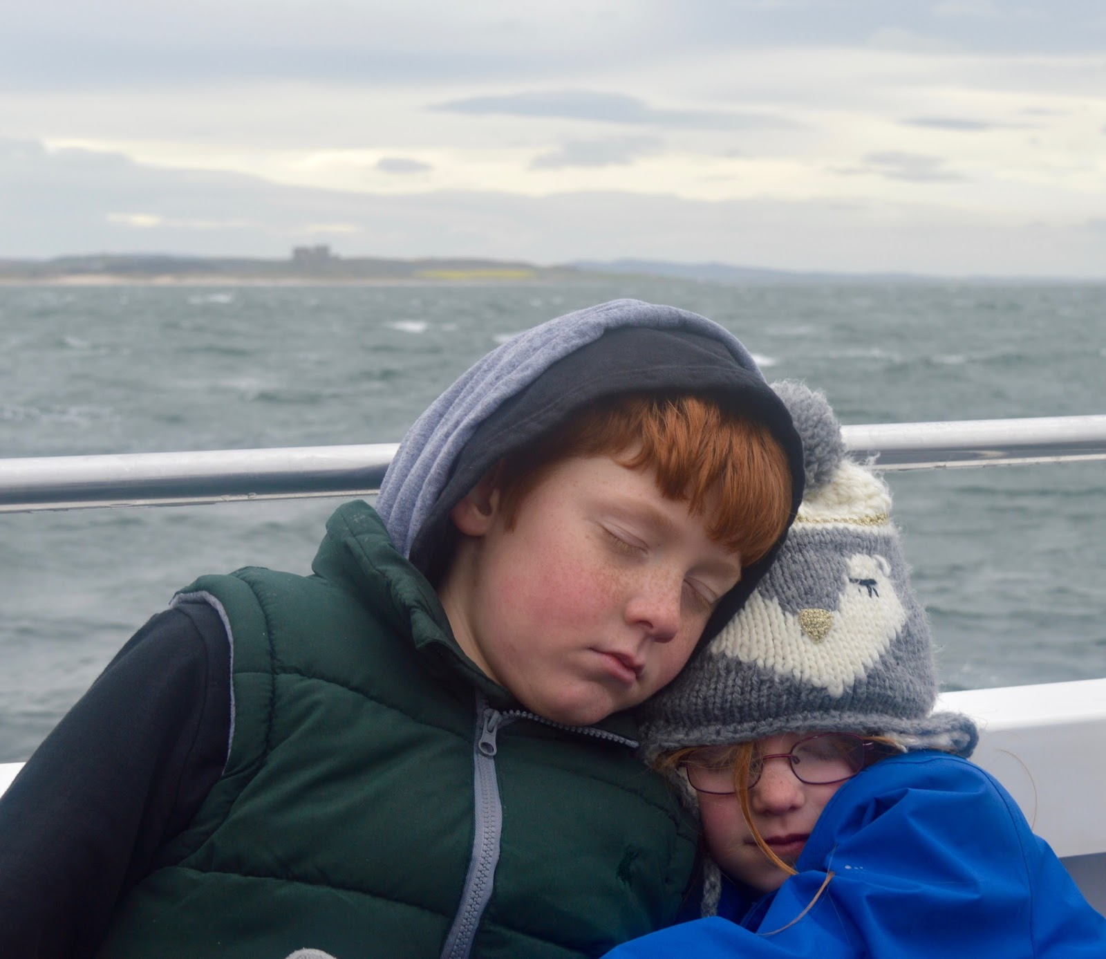 Farne Island Boat Trips with Serenity | A review and what to expect with kids - returning to Seahouses