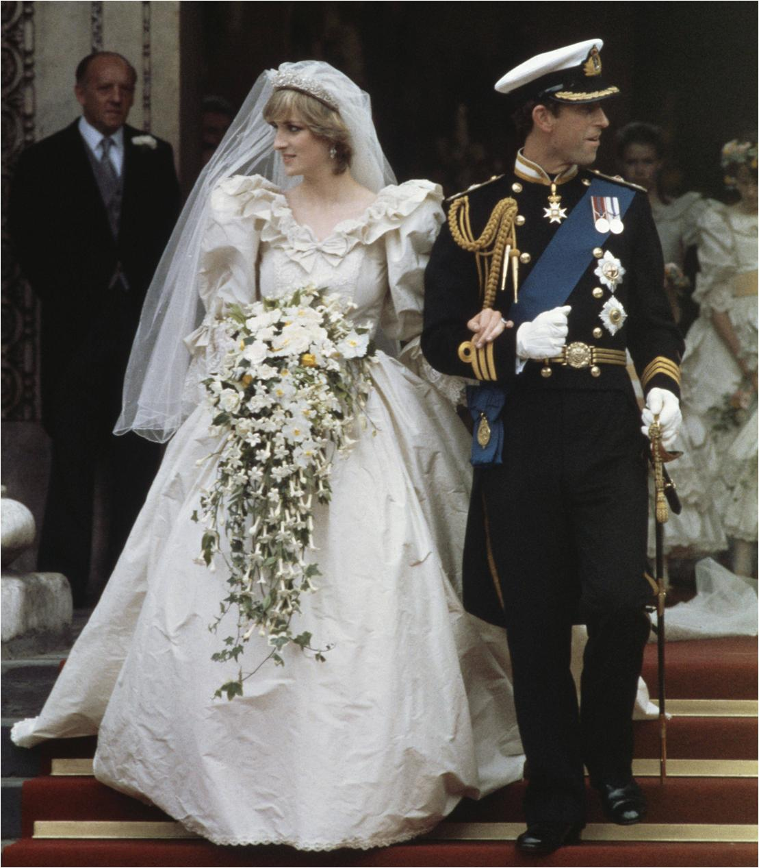Top 10 Best Royal Wedding Dresses 7 Diana Princess Of Wales