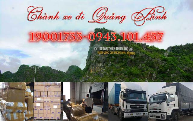 Dịch vụ vận chuyển hàng hóa đi Quảng Bình