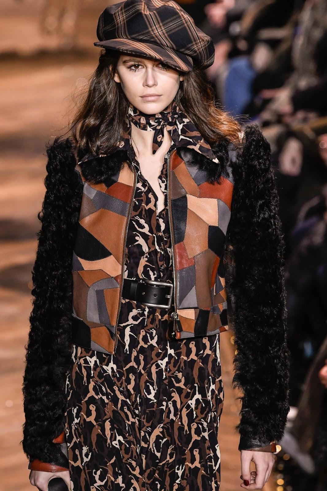 Kaia Gerber - Michael Kors fashion show Fall Winter 2019 in New York - 02/13/2019