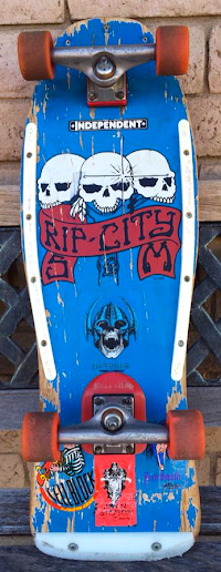 Some Santa Monica Localism: The Rip City Skates Board